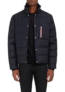 Moncler Gamme Bleu Men's Down-Quilted Wool Coat