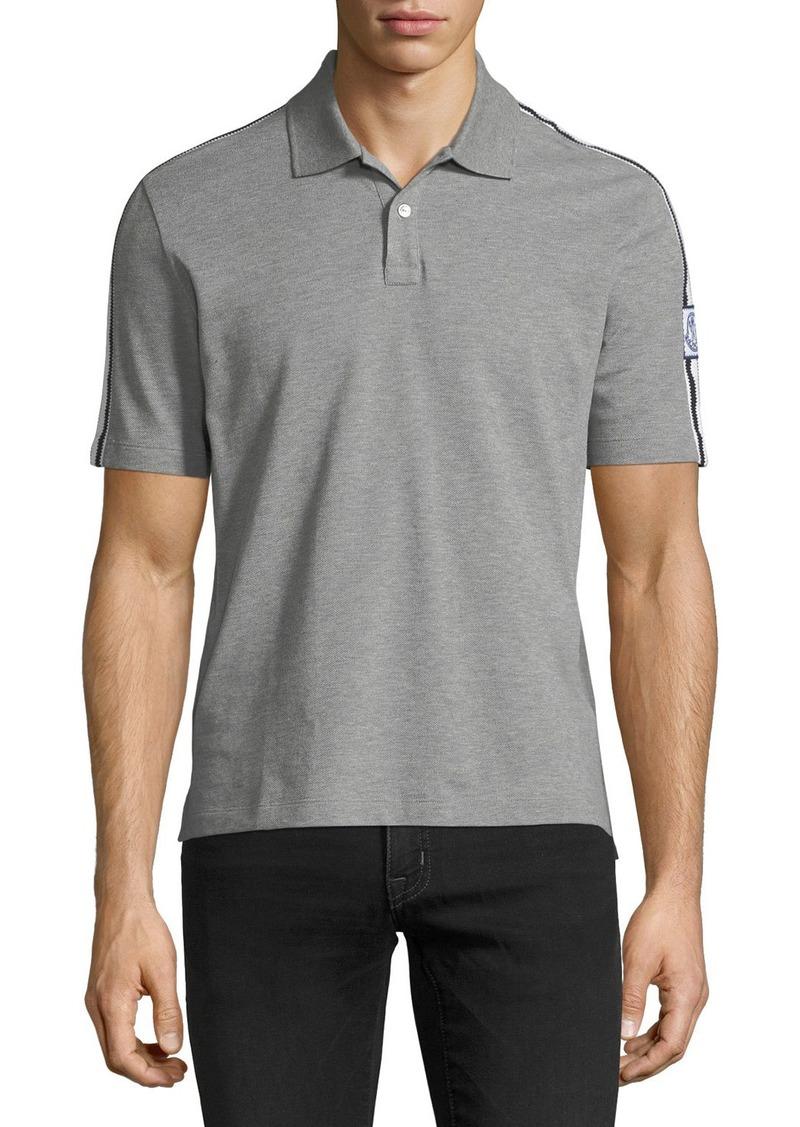 Gamme Bleu Men's Maglia Polo Shirt. Moncler