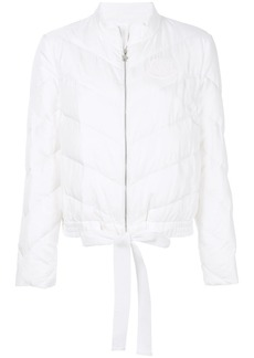 Moncler Gamme Rouge quilted puffer jacket - White