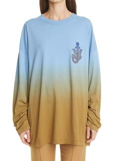 Moncler Genius 1 Moncler JW Anderson Dégradé Dip Dye T-Shirt