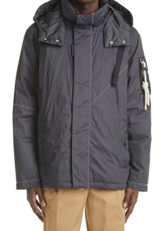 Moncler Genius 1 Moncler JW Anderson Jacket with Removable Hood