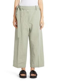 Moncler Genius x 2 Moncler 1952 Cotton & Linen Crop Pants