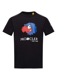 Moncler Genius x Undefeated 2 Moncler 1952 Eagle Men's Graphic Tee