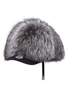 Moncler Genuine Fox Fur Baseball Cap