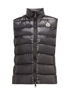 97567eb7f Moncler Ghany high-neck quilted-down gilet