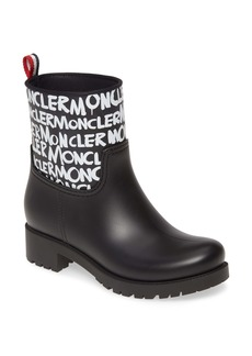 Moncler Ginette Logo Waterproof Rain Boot (Women)