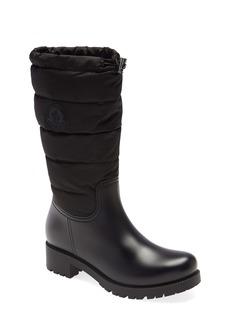 Moncler Ginette Tall Waterproof Rain Boot (Women)