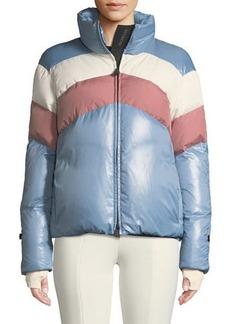 Moncler Grenoble Lamar Colorblock Ski Coat