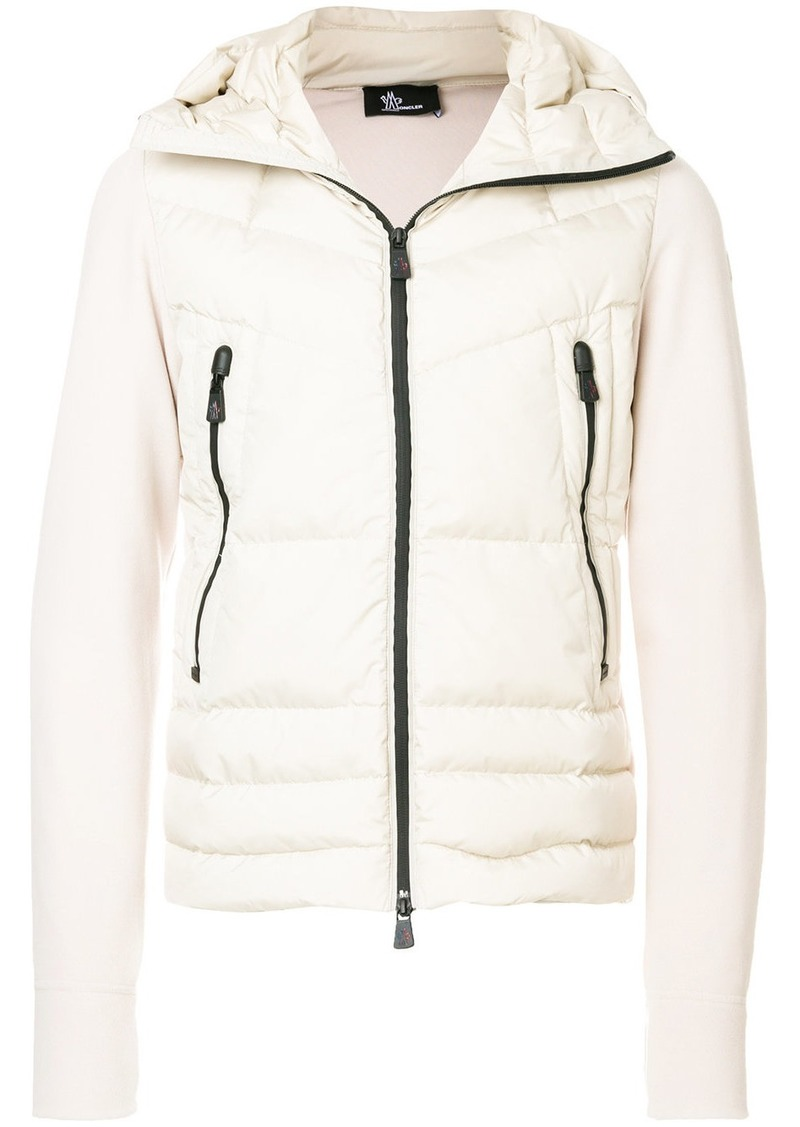 Sale New Wide Range Of Cheap Price zipped padded jacket - Nude & Neutrals Moncler ptIWNDO2