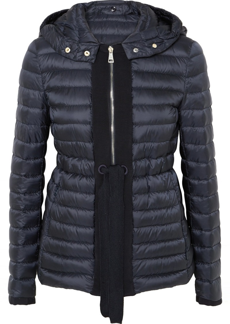 5bfe59542 Grosgrain-trimmed Quilted Shell Down Jacket