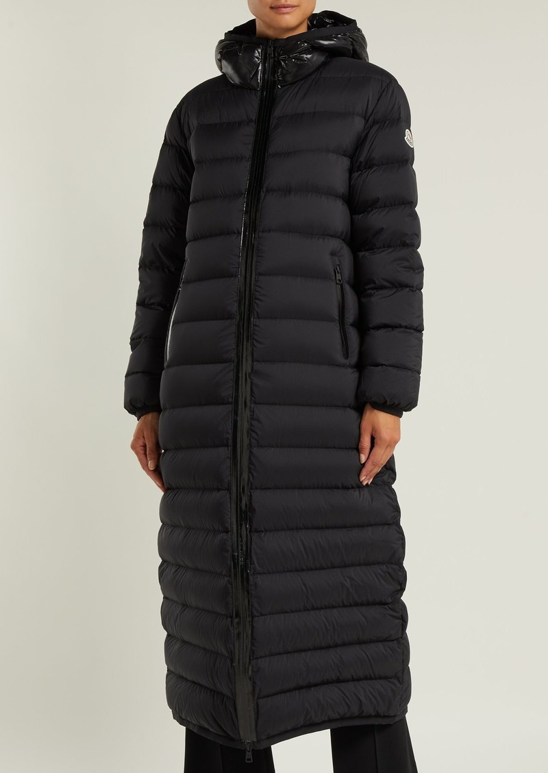 Moncler Moncler Grue quilted down long line coat | Outerwear