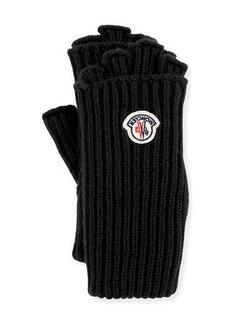 Moncler Guanti Logo Patch Fingerless Gloves