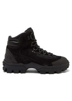 Moncler Herlot lace-up suede boots