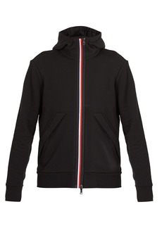 Moncler Hooded cotton-jersey jacket