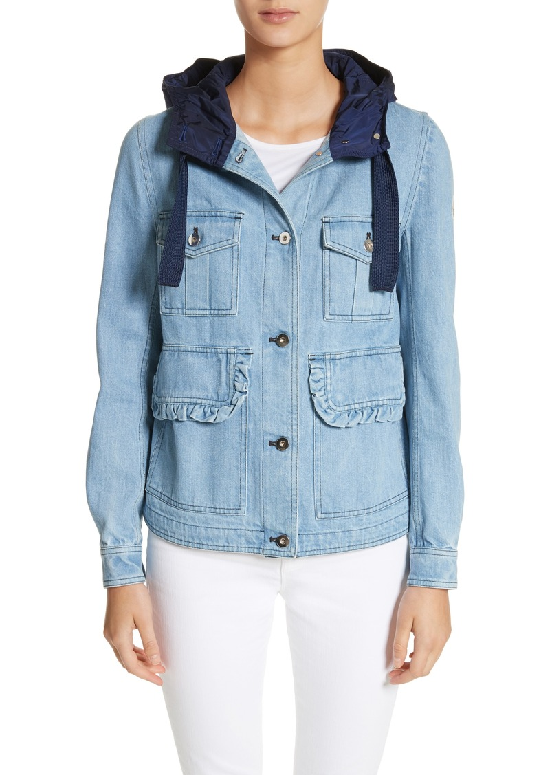 moncler denim jacket