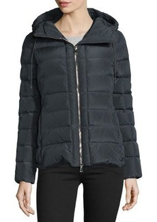 Moncler Idrial Hooded Short Puffer Jacket