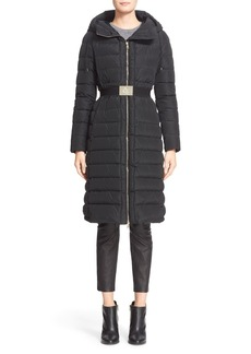 Moncler 'Imin' Water Resistant Belted Down Puffer Coat