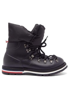 Moncler Inaya removable quilted-insert rubber boots