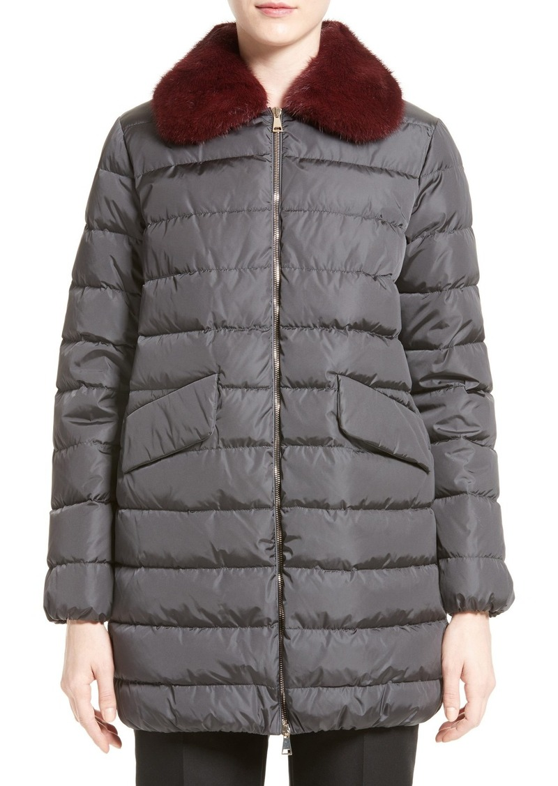 moncler fur trim coats inc for sale moncler sale. Black Bedroom Furniture Sets. Home Design Ideas