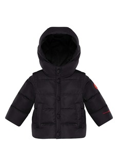 Moncler Kids' Born to Protect Project Hasan Hooded Down Puffer Jacket (Baby & Toddler)