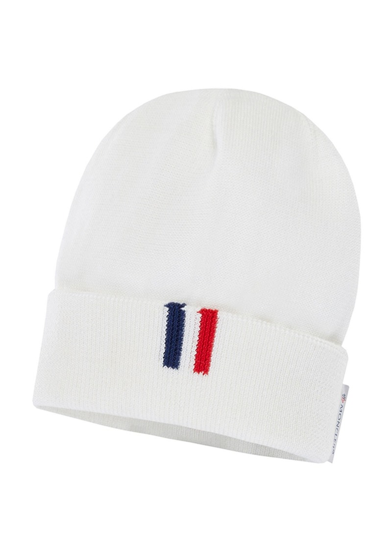 Moncler Kids' Knitted Beanie Hat