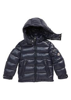 Moncler Kids' New Maya Water Resistant Hooded Down Puffer Jacket (Little Kid & Big Kid)