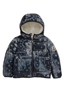 Moncler Kids' Songu Reversible Water Resistant Puffer Jacket (Little Kid & Big Kid)