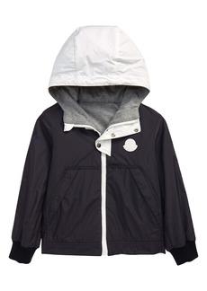 Moncler Kids' Varsos Reversible Water Resistant Hooded Jacket (Little Kid & Big Kid)