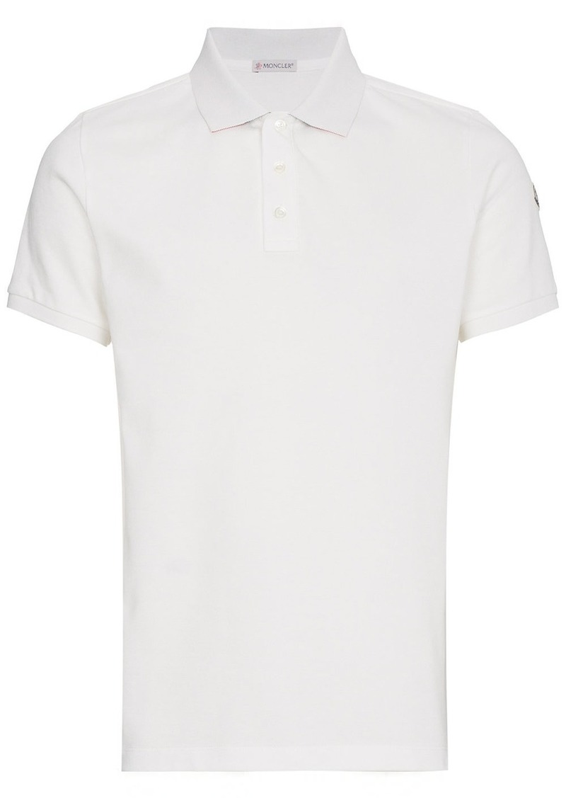 Moncler Knitted Polo Shirt