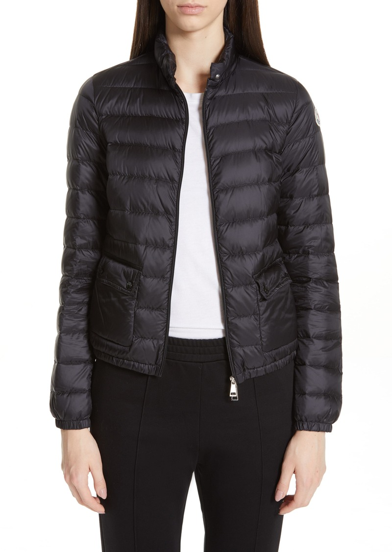 Moncler Lans Quilted Lightweight Down Jacket