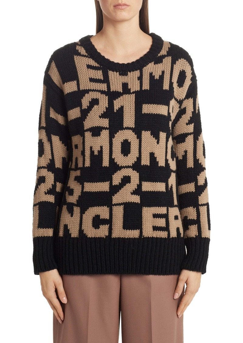 Moncler Letter Sweater