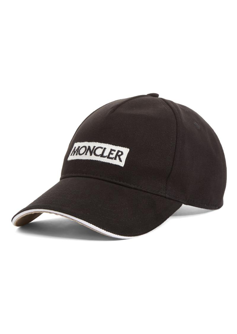 31c8b4a9cdf Moncler Moncler Logo Baseball Cap