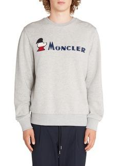 Moncler Logo Crewneck Sweatshirt