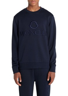 Moncler Logo Embroidered T-Shirt