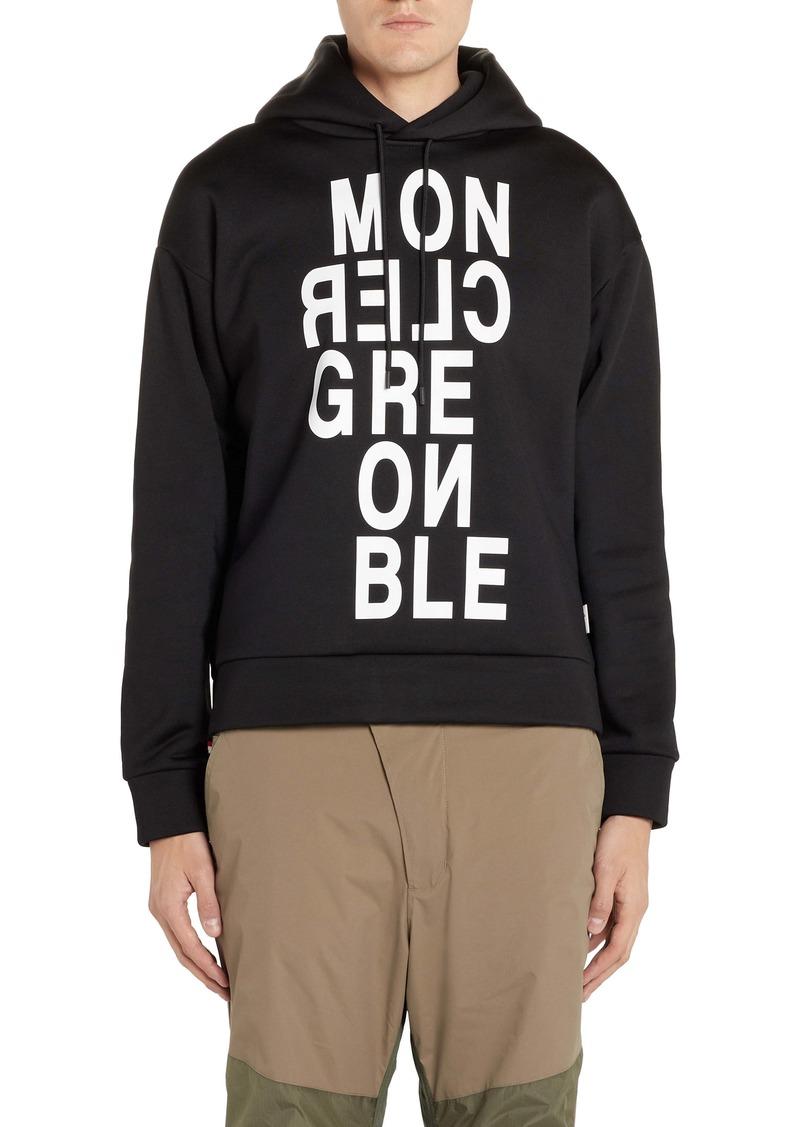 Moncler Grenoble Logo Hoodie