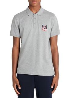 Moncler Logo Patch Cotton Piqué Polo