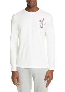 Moncler Logo Patch Long Sleeve T-Shirt