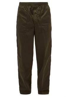 Moncler Logo side-stripe track pants