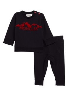Moncler Logo Sweatshirt & Pants Set (Baby)