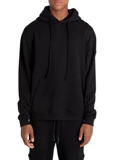 Moncler Maglia Con Cappuccio Logo Hooded Sweatshirt