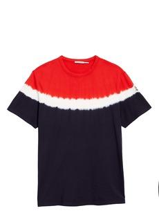 Moncler Tie Dye Cotton T-Shirt