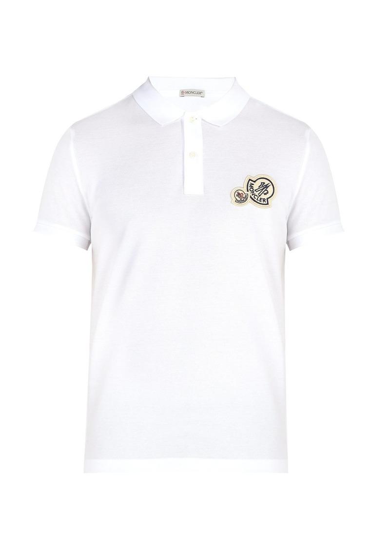 b9f2dae7 Moncler Moncler Double-logo cotton polo shirt | Casual Shirts