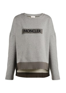 Moncler Maglia Girocollo cotton sweatshirt