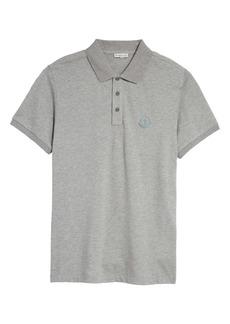 Moncler Logo Patch Short Sleeve Piqué Polo
