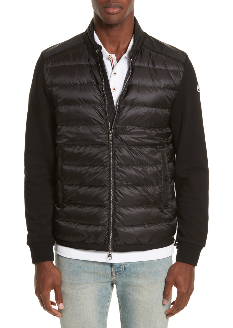 36c828246 Moncler Moncler Maglia Mixed Media Jacket