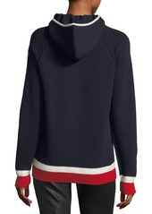 Moncler Moncler Maglione Tricot Argyle Hooded Pullover Sweater ...