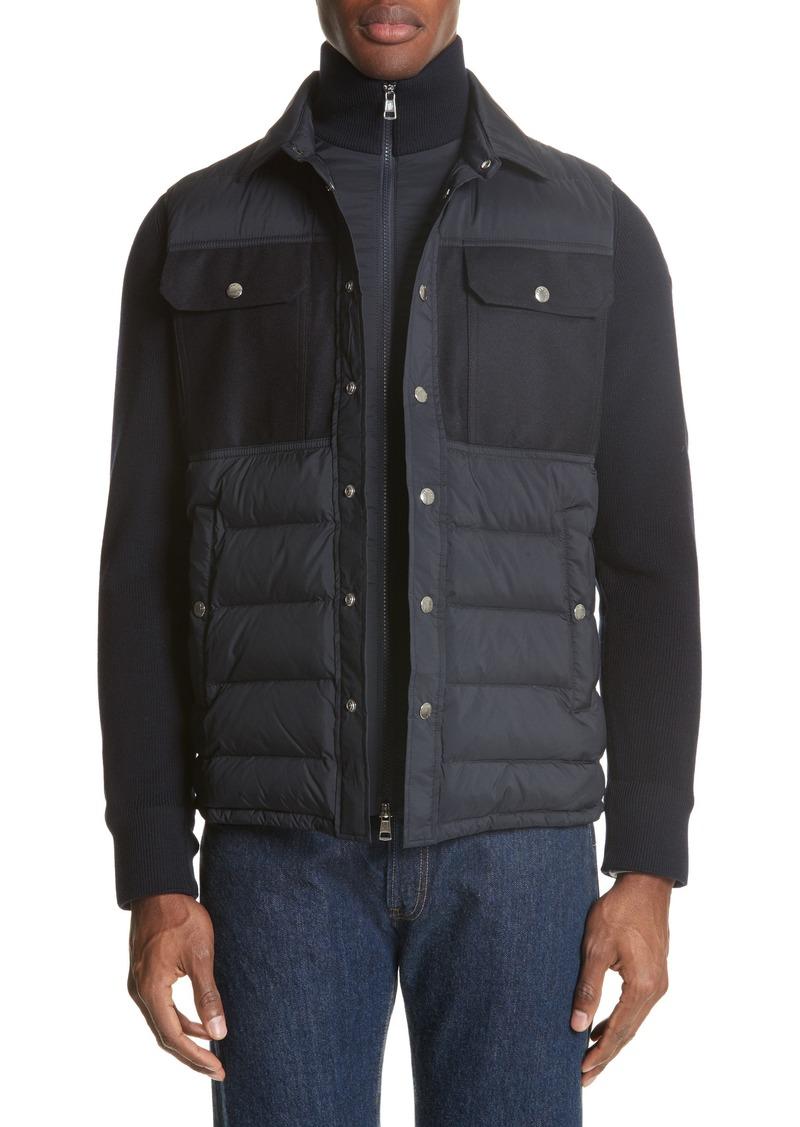 disponibilità nel Regno Unito 74ad8 e70e0 Maglione Two-Tone Down Jacket