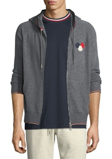 Moncler Maglione Zip-Front Hoodie