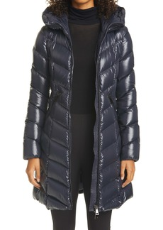 Moncler Marus Water Resistant Down Puffer Coat