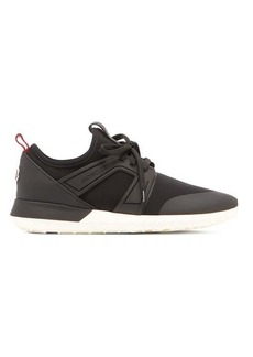 Moncler Meline neoprene and leather low-top trainers